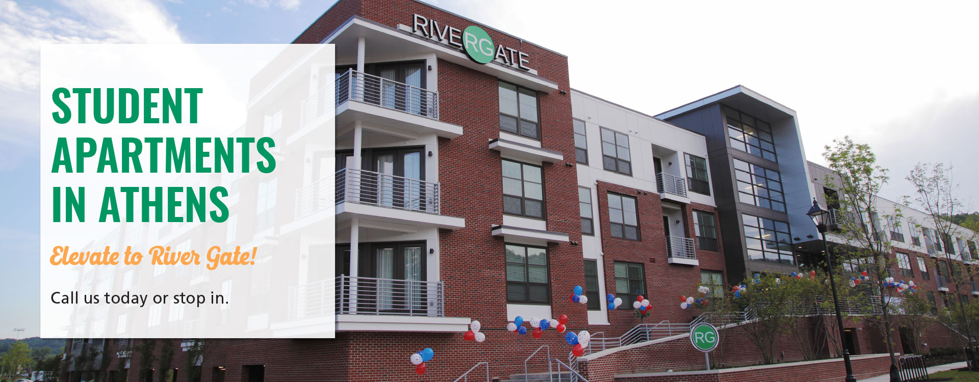 River Gate Apartments - Ohio University Student Housing in Athens, Ohio
